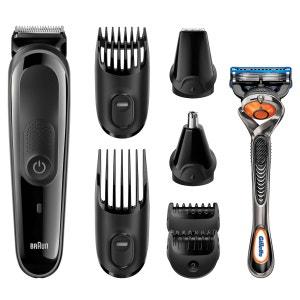 Kit tondeuse polyvalente barbe/cheveux MGK3060 BRAUN