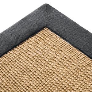 Tapis en jute, ganse coton, 4 tailles, Damya La Redoute Interieurs