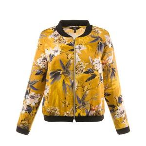 Floral Print Bomber Jacket ULLA POPKEN