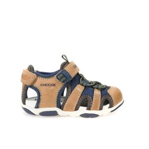 Sandálias em pele B S.Agasim B. B GEOX