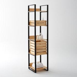 Estantería columna de pino macizo y metal, Hiba La Redoute Interieurs