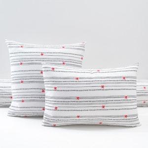 Fronha estampada, percal de algodão, Meknes La Redoute Interieurs