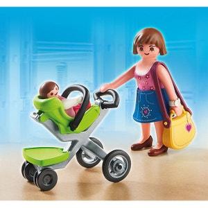 Maman et Bébé avec Poussette - PLA5491 PLAYMOBIL