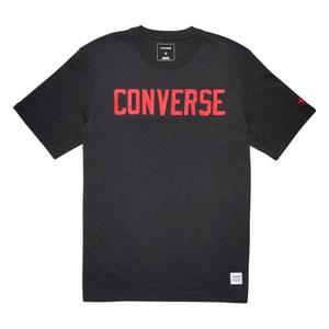 T-shirt scollo rotondo motivo davanti CONVERSE