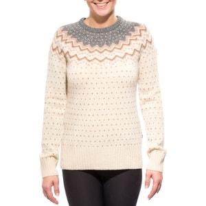Övik - Sweat-shirt femme - beige/marron FJALLRAVEN