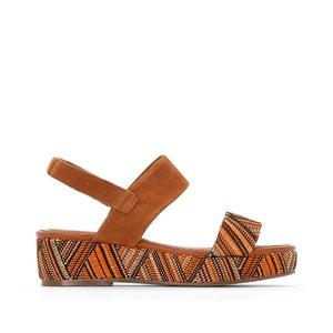 Sandálias de tacão de cunha fantasia CASTALUNA