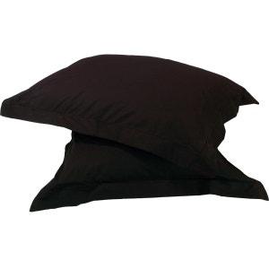 Lot de 2 Taies d'oreiller Percale 100% Coton 80 fils/cm² SENSEI LA MAISON DU COTON