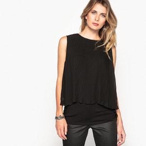 Effen blouse met ronde hals, zonder mouwen ANNE WEYBURN