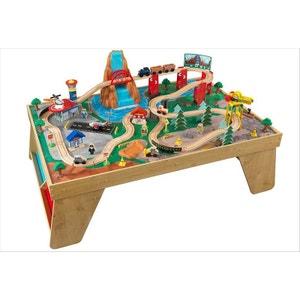 Table de circuit de train en bois Kidkraft KIDKRAFT