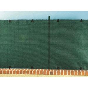 Brise vue pour clôture Totaltex en rouleau 1.00 x 3 m Vert Nortene NORTENE