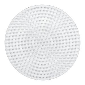 Plaque pour perles à repasser Hama Midi : Plaque moyenne ronde HAMA