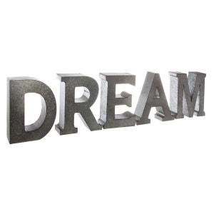 Lettres décoratives en métal DREAM DECORATIE