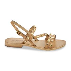 Backy Leather Sandals LES TROPEZIENNES PAR M.BELARBI