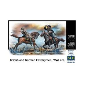 Figurines : Cavaliers anglais et allemand MASTER BOX
