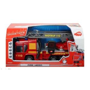 Dickie 203716003 Fire Hero - Camion de pompier 43 cm DICKIES