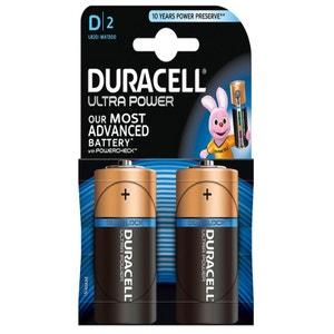 Pile DURACELL D x2 ULTRA POWER LR20 DURACELL