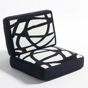 Coussin en toile de coton pour fauteuil Dilma AM.PM.