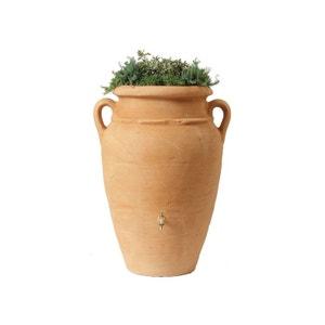 Kit Amphore Antik - Bac à plantes + collecteur + robinet - 250 L Sable GARANTIA