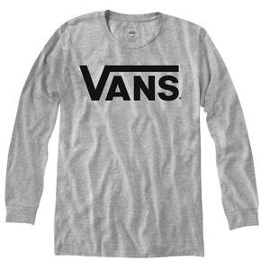 Camiseta lisa de manga larga, cuello redondo VANS