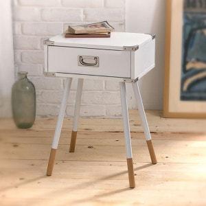 table de nuit blanche la redoute. Black Bedroom Furniture Sets. Home Design Ideas