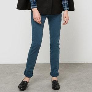 Pantalón slim twill de algodón, cremallera La Redoute Collections