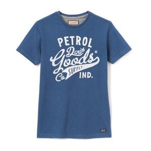 Short-Sleeved Crew Neck T-Shirt, 8-16 Years PETROL INDUSTRIES