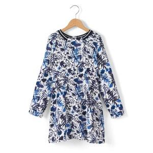 Printed Long-Sleeved Dress, 3-14 Years IKKS JUNIOR