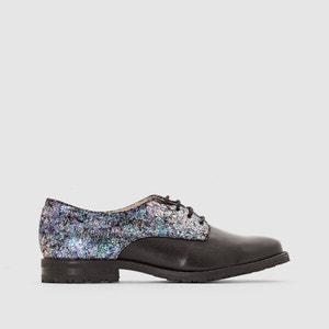 Sapatos derbies em pele e lurex Arima MELLOW YELLOW