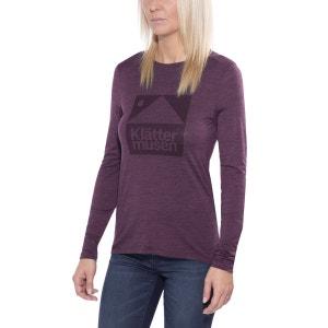 Eir - T-shirt manches longues - violet KLÄTTERMUSEN