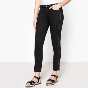 Sculpt-Up Slim Fit Side Stripe Jeans IKKS