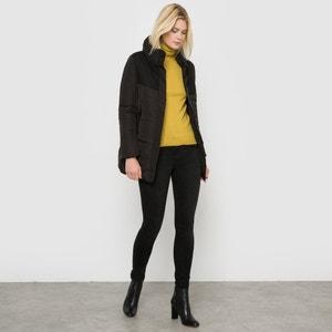 Dual Fabric Padded Jacket R essentiel
