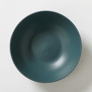 Assiette creuse en faïence finition mate (lot de 4), Mélya La Redoute Interieurs