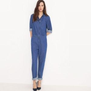 Combinaison pantalon, denim léger R essentiel
