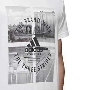 T-shirt scollo rotondo, maniche corte ADIDAS PERFORMANCE