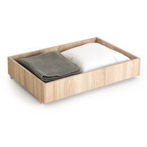 Cajón para sofá cama 140 cm, acabado haya