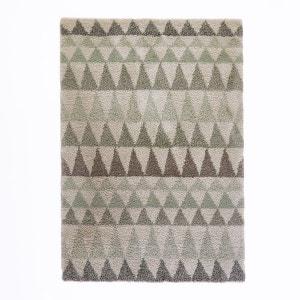 Tapis shaggy triangles aspect laineux, Farawi La Redoute Interieurs