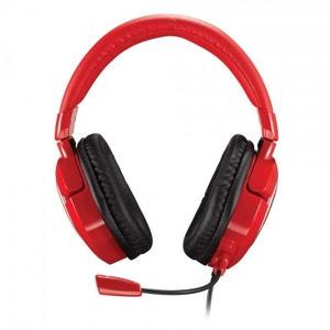 Casque gamer TRITTON AX180 rouge (Xbox 360, PS3, Wii, PC) TRITTON