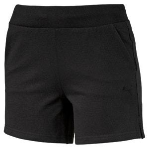 W ESS Short.Blk Shorts PUMA