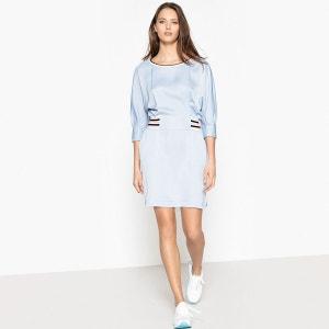 Robe sportswear satiné, ressérée taille La Redoute Collections