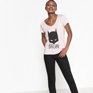 Bedrukt T-shirt DC COMICS met ronde hals en korte mouwen DC COMICS