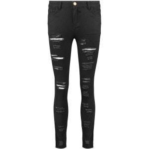 Déchirés Skinny Denim Jeans BLUE INC