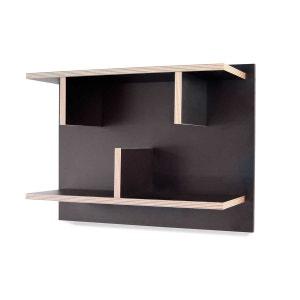 Étagère Design Noire Bern 40 X 60 ATYLIA