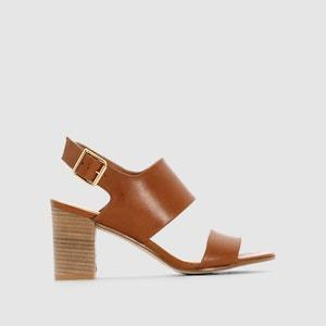 Sandalias de piel con tacones JONAK