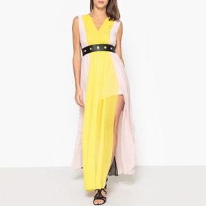Sleeveless Voile Maxi Dress LIUJO