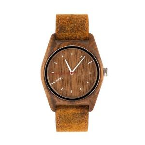 Montre en bois SHERWOOD bracelet cuir D.W.Y.T WATCH