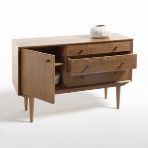 Buffet vintage, 1 porte, 3 tiroirs, Quilda La Redoute Interieurs