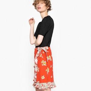 Printed Ruffled Skirt MADEMOISELLE R
