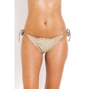Bas de Bikini noué côtés Scales Ripple  Taupe effet écailles VIX PAULA HERMANNY