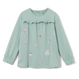 T-shirt étoile sequin 3-12 ans La Redoute Collections