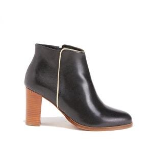 Boots zippées cuir BOBBIES